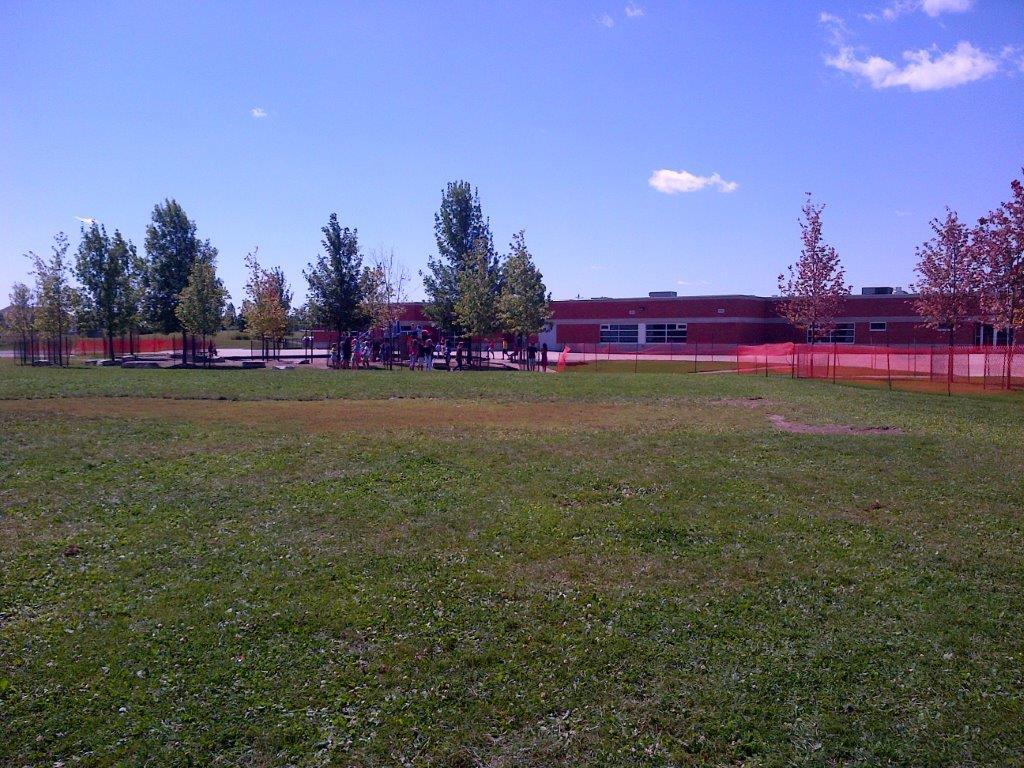 St. Luke Playground and trees